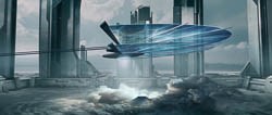 Concept art for high end advertising directed by Bruno Aveillan.