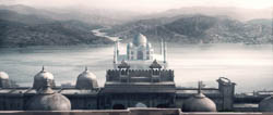 concept art and matte painting for the high end Advertising, directed by Bruno Aveillan