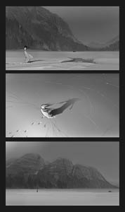 Storyboard for the TV show